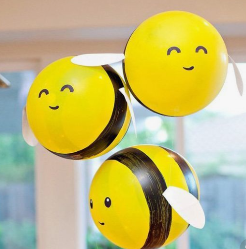 cutest bee balloons ever