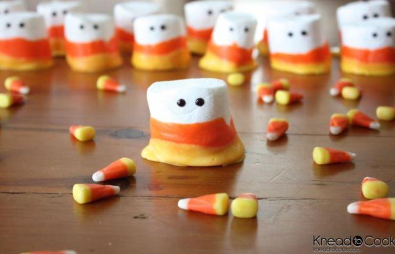 cute halloween marshmallows