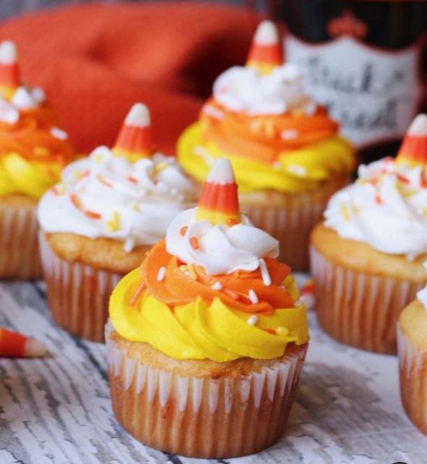 halloween baby shower cupcakes