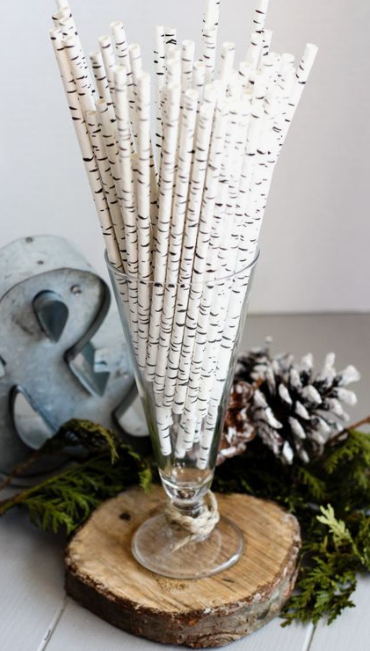birch tree straws