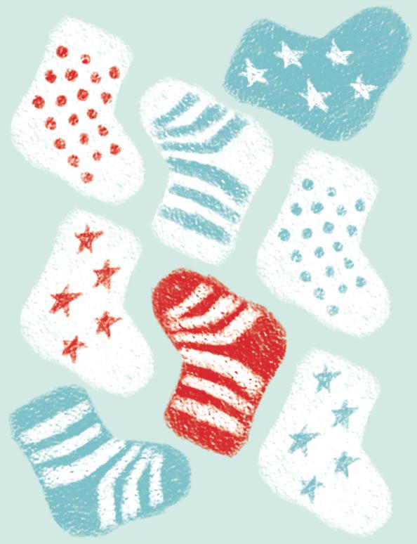 free baby sock pattern printable