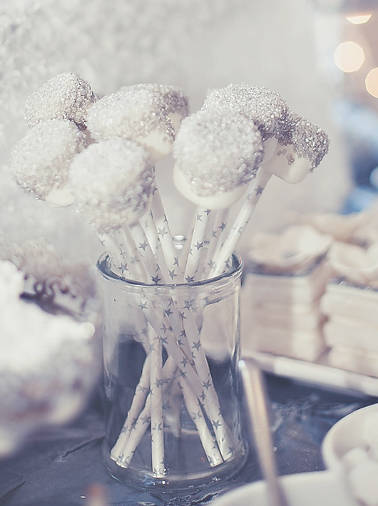marshmallows display for winter baby it's cold outside baby shower