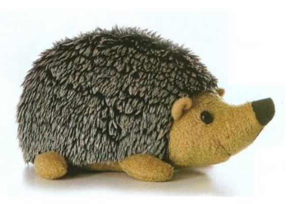 cute stuffed animal hedgehog