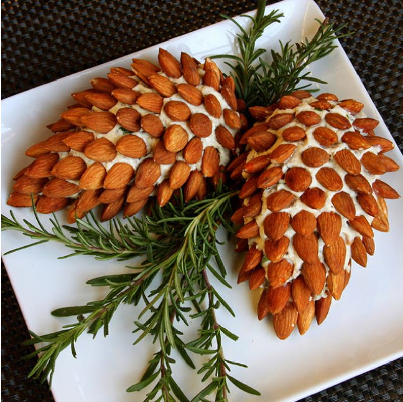 pinecone cheese balls