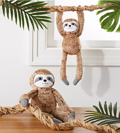 sloth birthday party decor