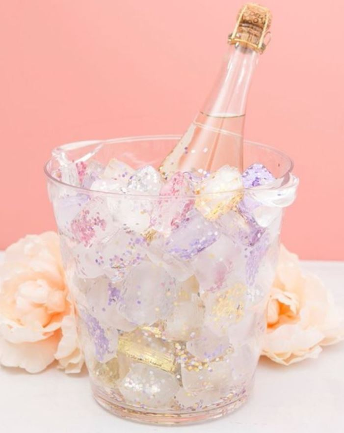 glitter ice display