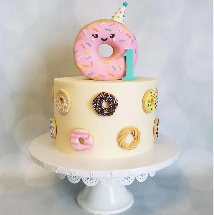 donut topper for birthday cake
