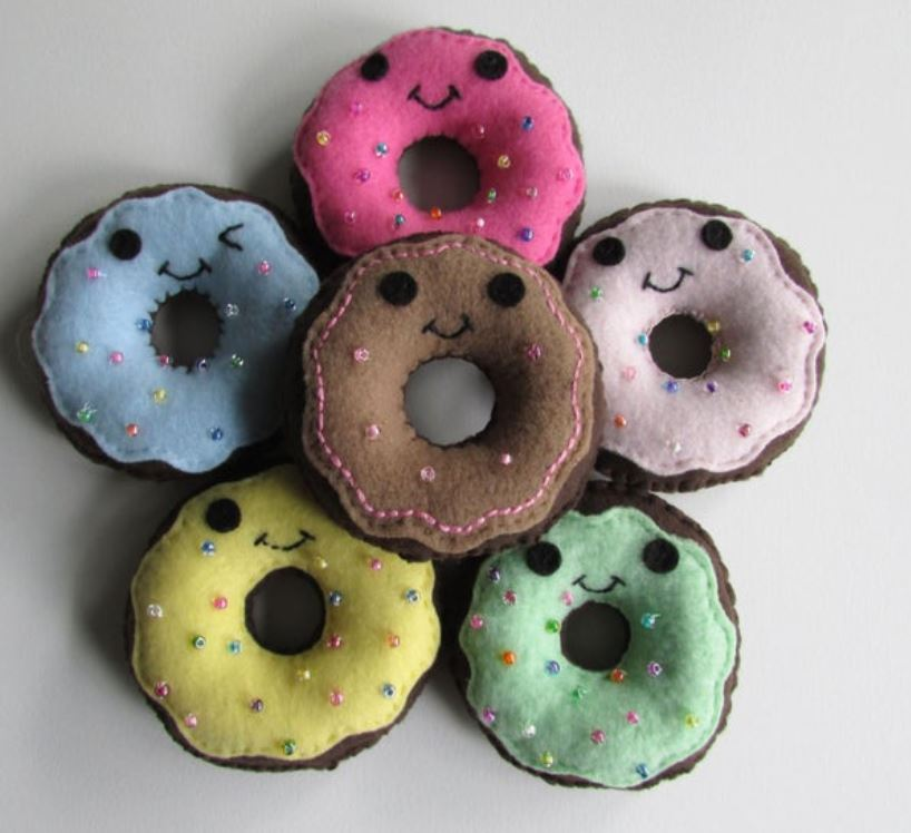 donut favors for birthday party