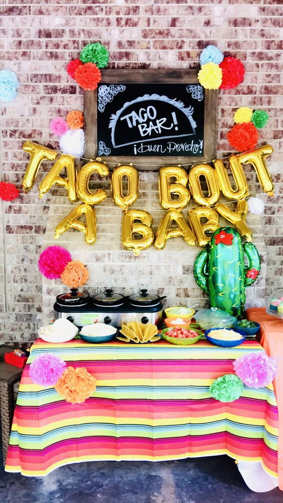 Taco bout a baby decoration ideas