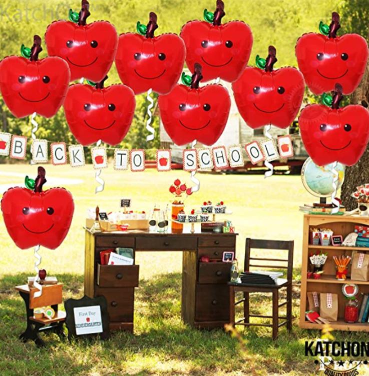 happy apple balloons