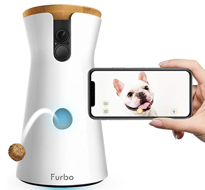 Furbo treat delivery system for dogs