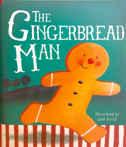 the gingerbread man book for kids