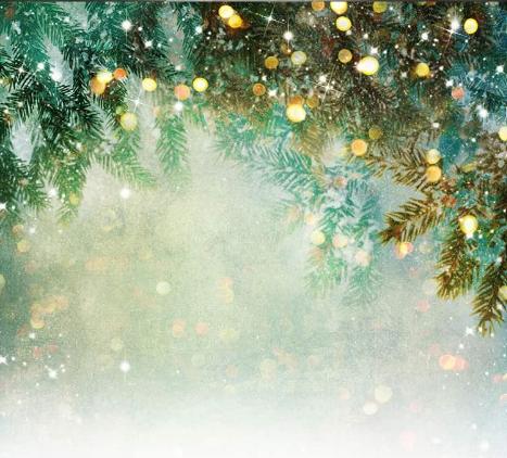 Christmas bokeh light background