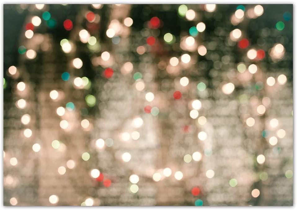Christmas bokeh lights