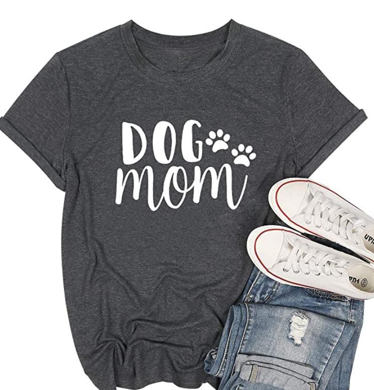 dog mom t shirt