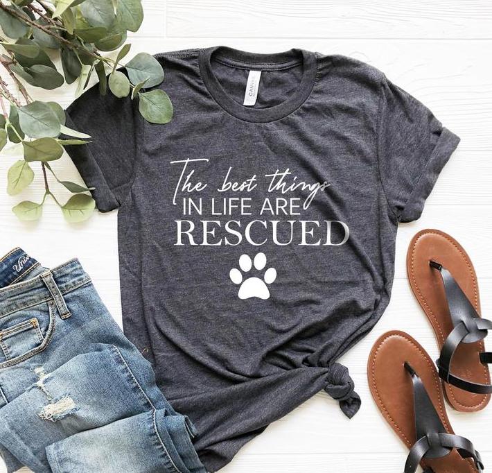 rescue dog t shirt