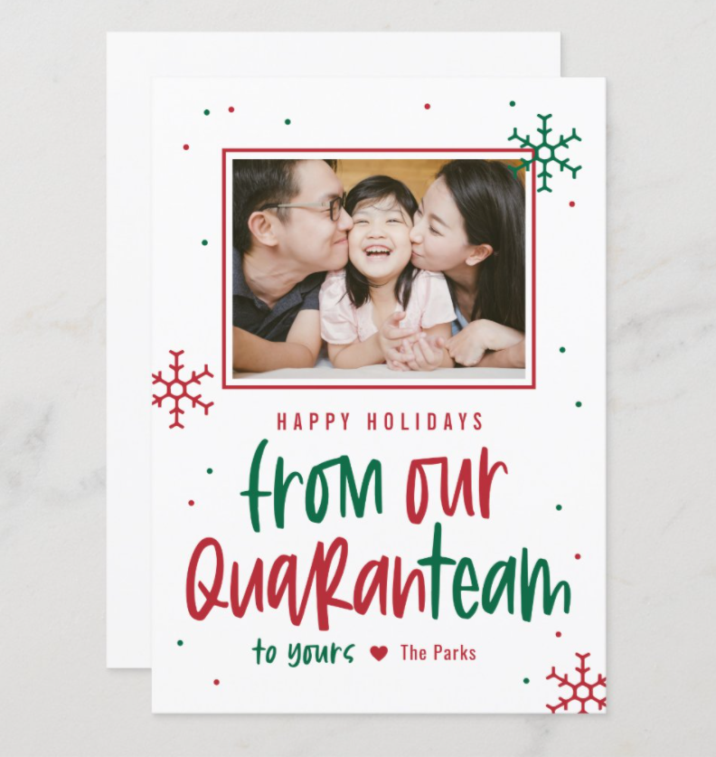 from our quaranteam to yours - 2020 greeting card