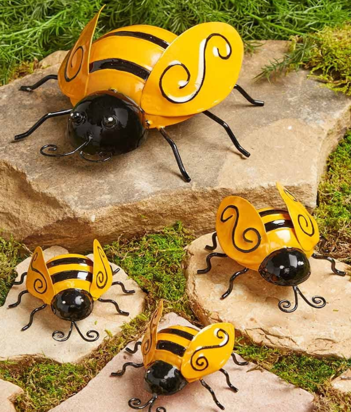 bee accents for home or garden