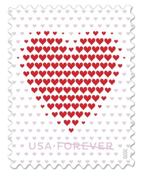 nerd wedding forever postage stamp