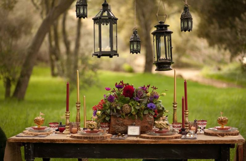 Princess Bride inspired medieaval table setting