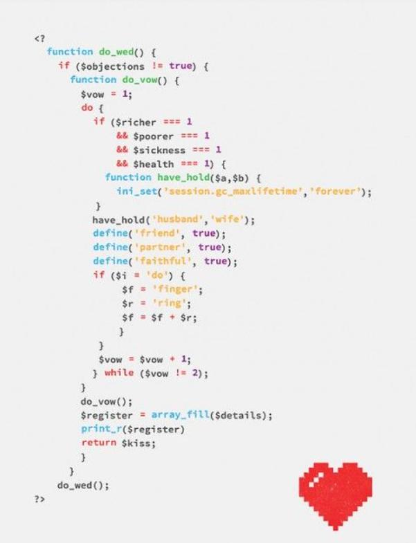 diy programmer wedding invitation