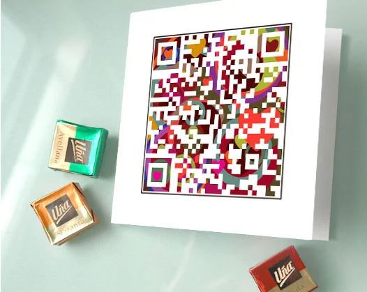 QR Code puzzle card