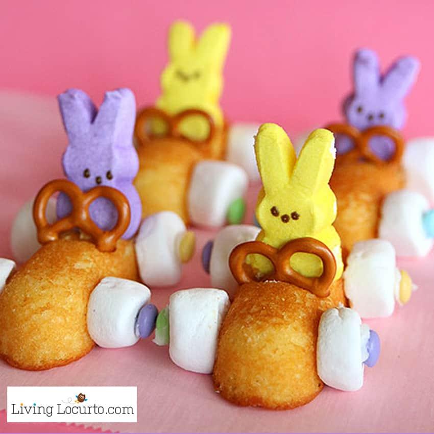 Peep marshmallow  cars for kiddos