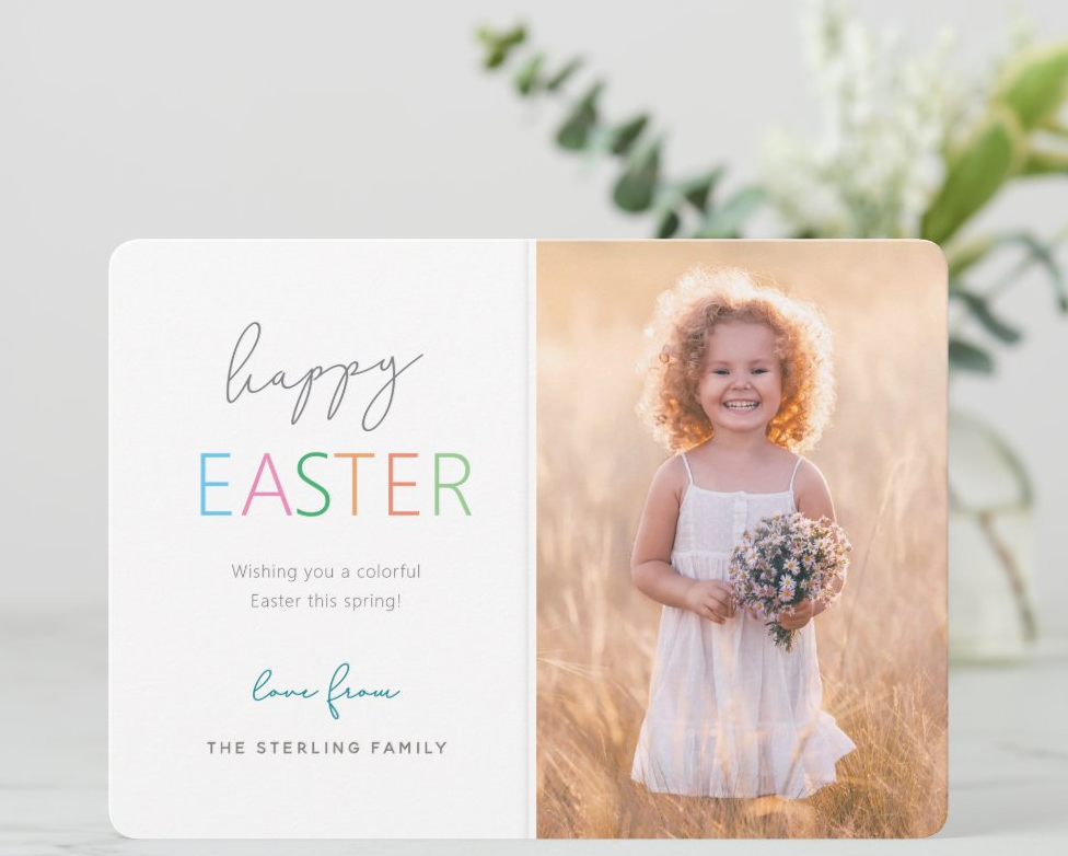 Happy Easter Greeting Card from Colleen Michele