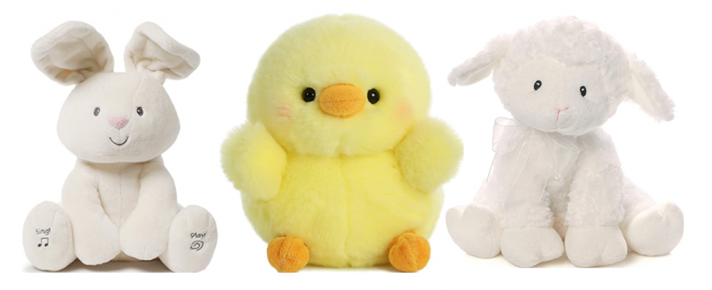Plush animals for young ones