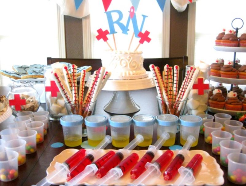 nurse graduation party theme