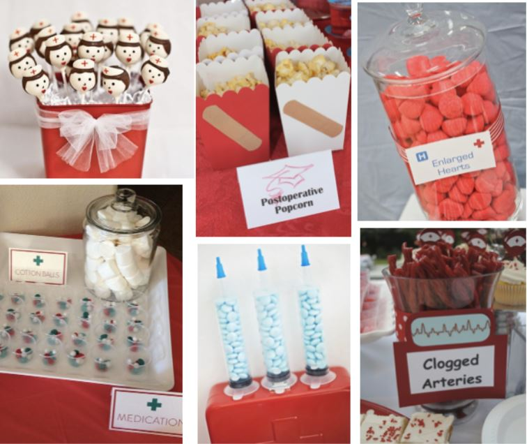 nurse graduation party ideas