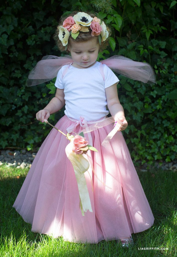 princess party dress with wings