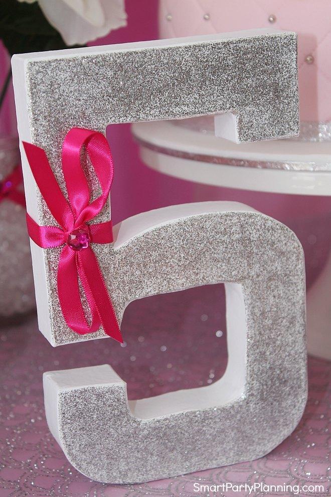 princess table decoration