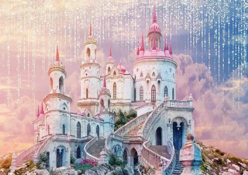 castle backdrop for princess parties