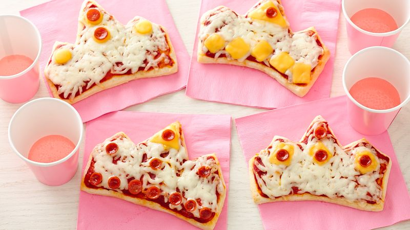pizza crowns for princess party