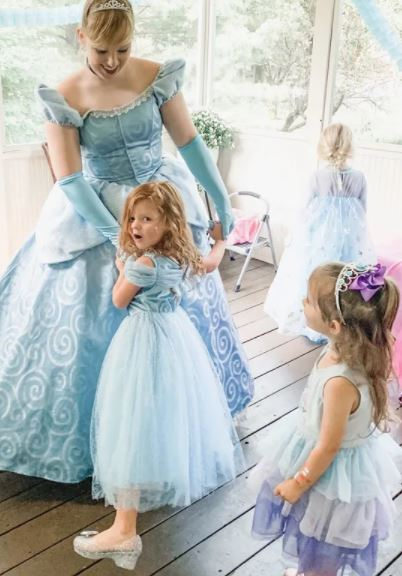 professional princess for princess parties