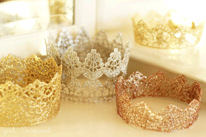 diy crowns for princess party