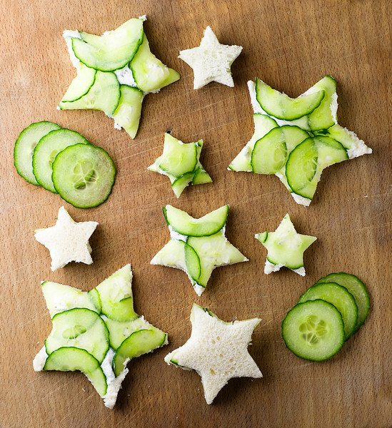 cucumber goat cheese appetizers