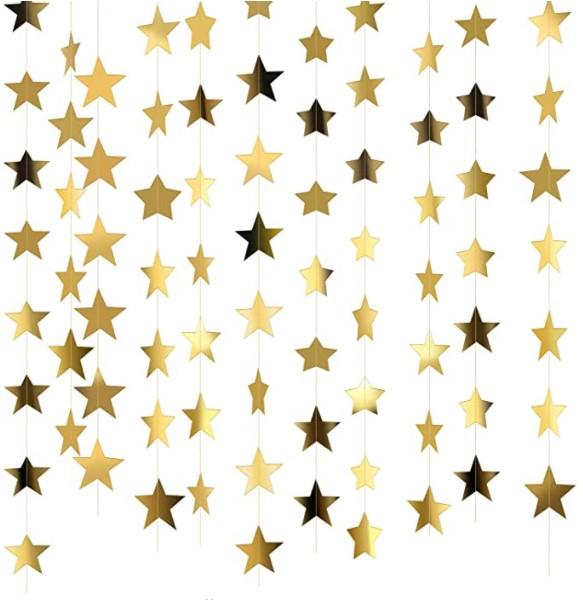 star themed garland