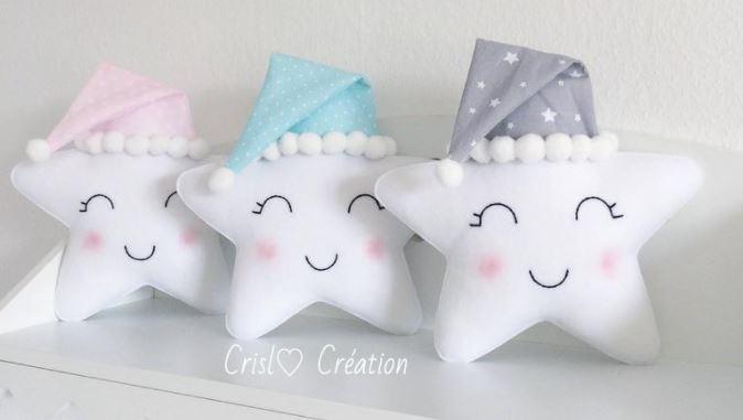 cute star pillows for nursery