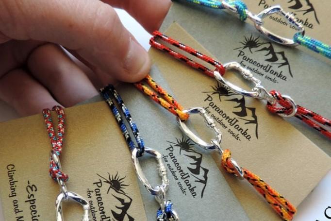 rock climbing bracelets