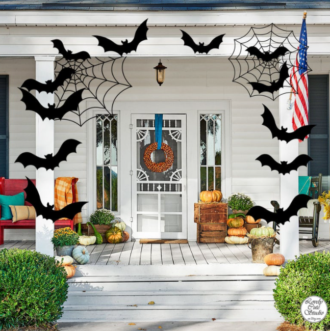 halloween party bat decorations