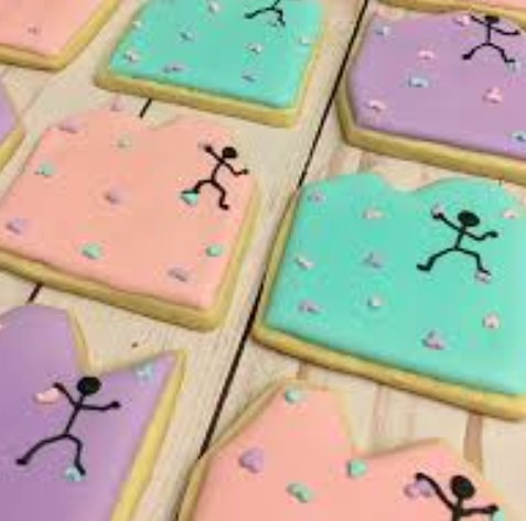 cookies for rock climbing party