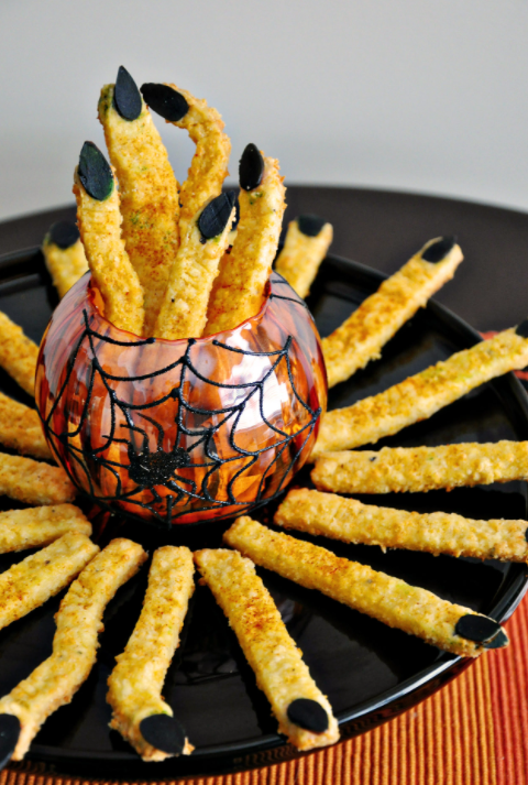 cheddar cheese witch fingers