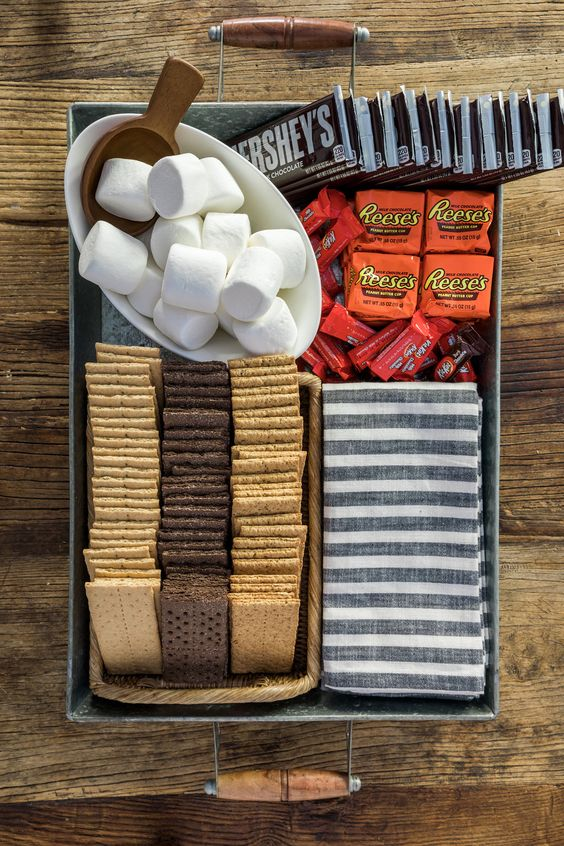 s'mores for camping