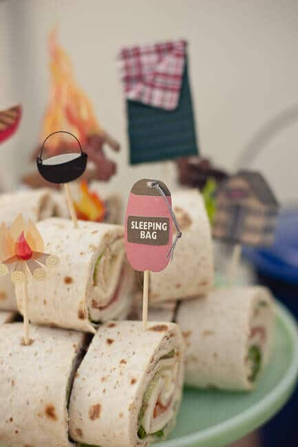 camping party food ideas