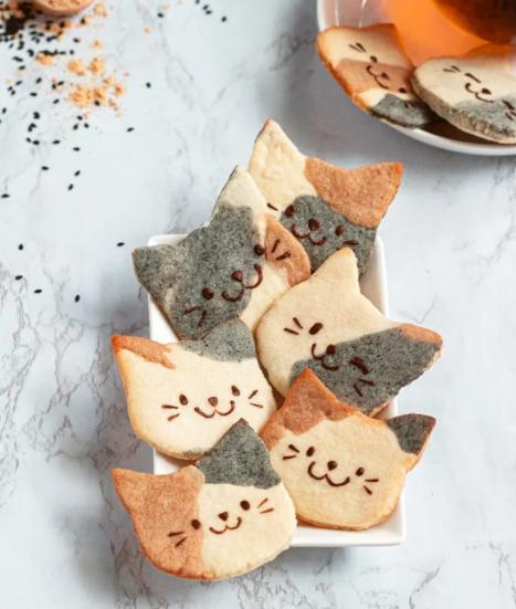 calico cat cookies